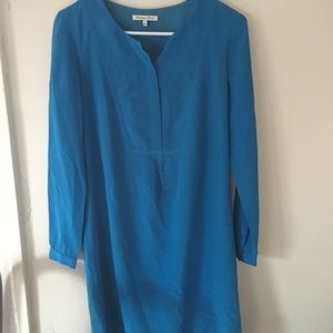 Broadway and Broome Blue tunic dress